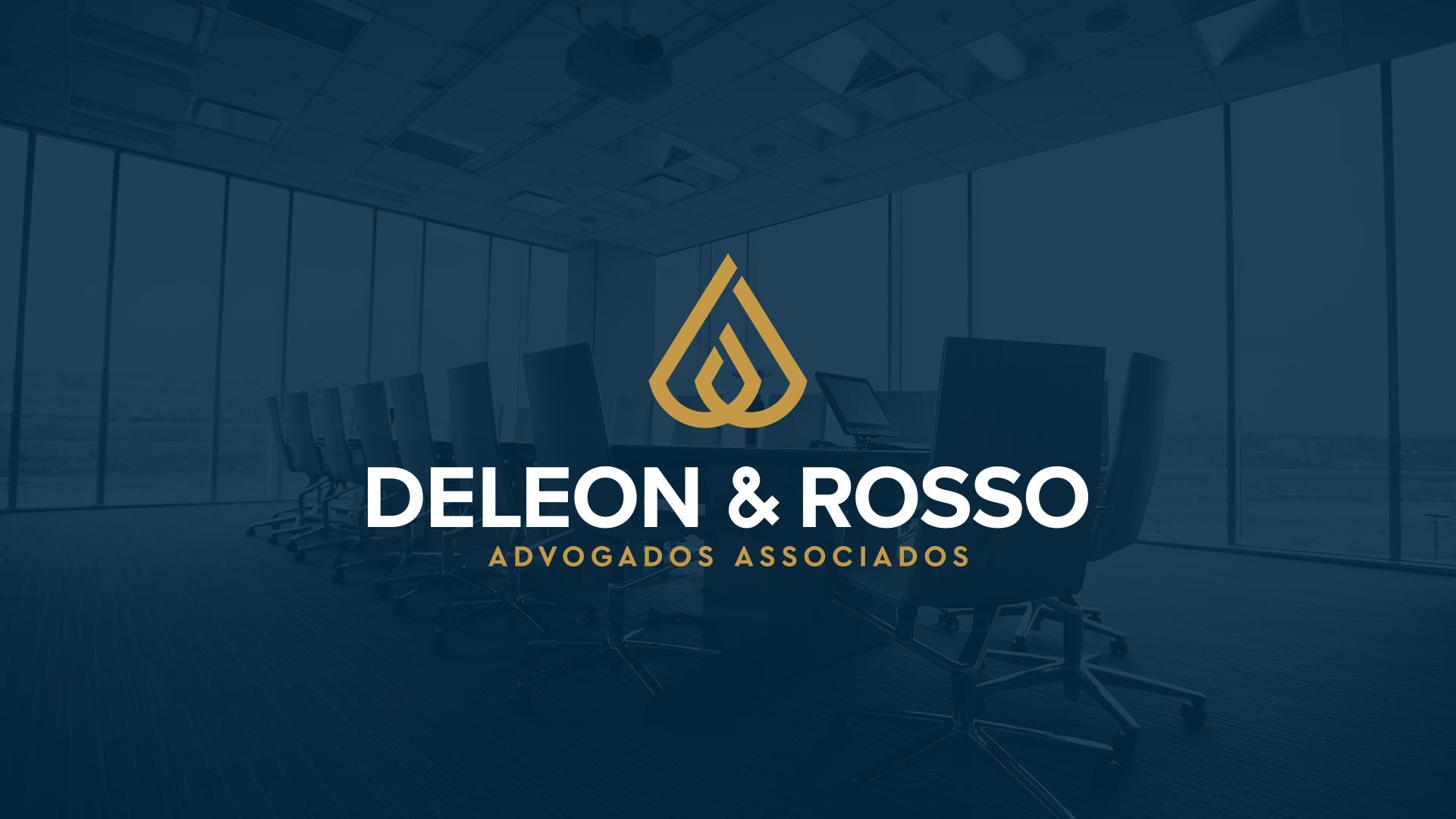 Identidade Visual e Verbal da Deleon & Rosso Advogados Associados